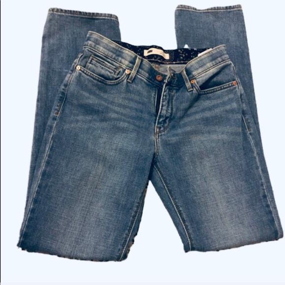 Levi's Denim - Levi   Perfect Waist 525 Straight leg jeans